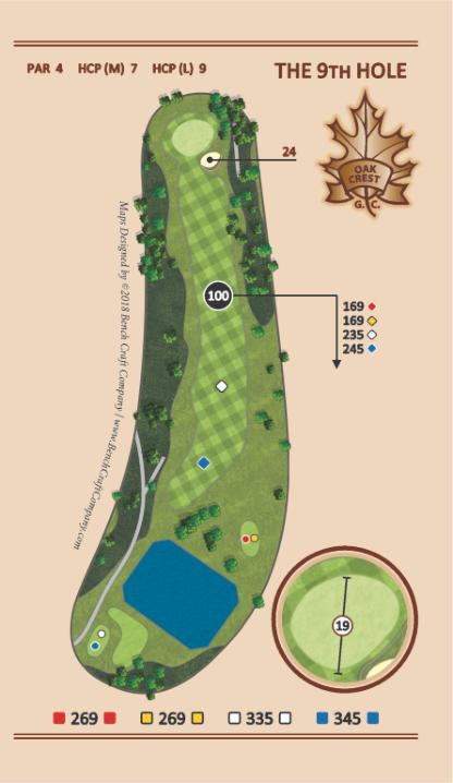 Hole 9 - Undercover - Oak Crest Golf Course